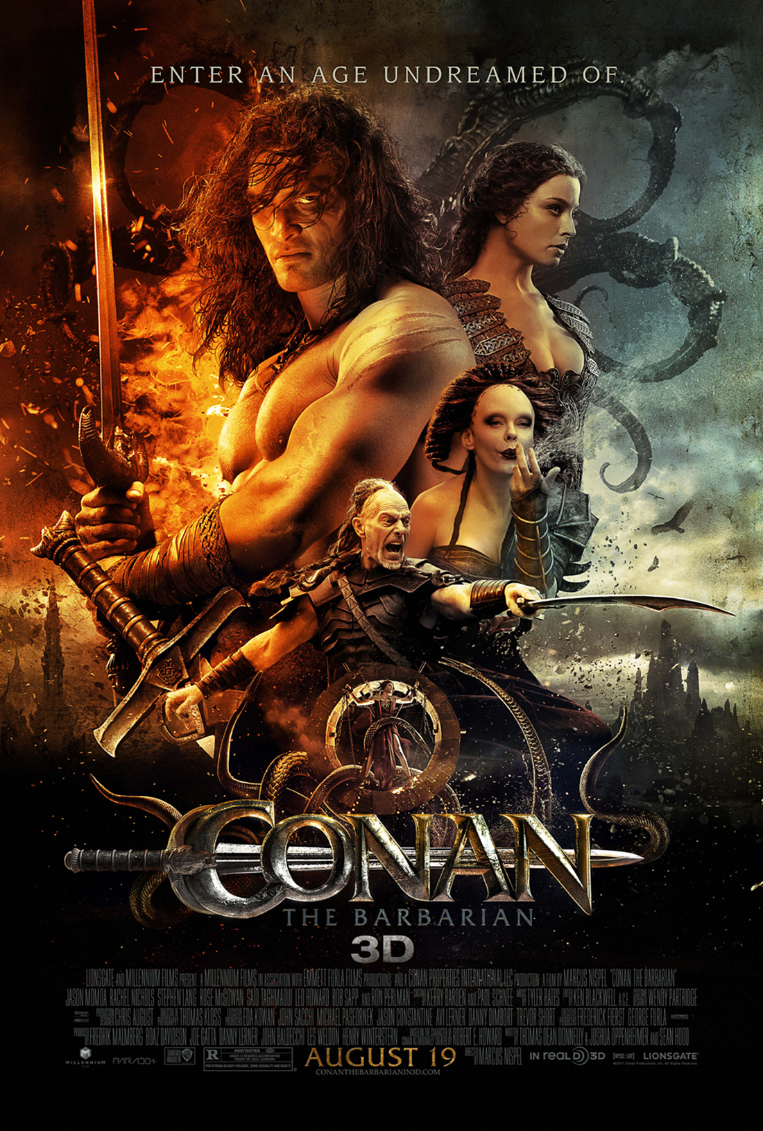 CONAN THE BARBARİAN
